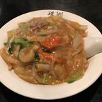 珠洲 - 料理写真:中華丼650円(税込)