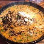 麺屋冬㐂 - 料理写真:担々麺(850円)+大盛り無料