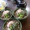 駅長そば 扇屋  - 料理写真:割子そば(3段) 700円