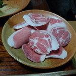 ぼたん鍋 あさみや - 猪肉(部位が違います)
