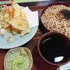 竹七 - 料理写真:天ざるそば