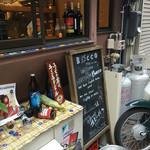 居酒屋Bocco - タバコは外で( ´Д`)y━・~~
