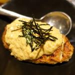 空音 - つくねハンバーグ 納豆ソース