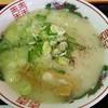 梅光軒 - 料理写真:ハーフラーメン(塩) 600円
