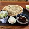 そば処 ゆたかや - 料理写真:十割蕎麦(1,100円)