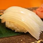 縄寿司 - 剣先いか