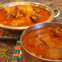 印度料理シタール - 料理写真:自信の辛口の南インドのカレー。