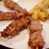 串太郎 - 料理写真:豚タン・豚カシラ・若鶏ボンちゃん
