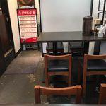 麺屋 武一  - 今回はBOX席が空いていたのでサクッと座ってみました。