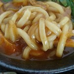 純愛うどん なでしこ ~ARATA~ - 太めの麺。伸びはあまり無し