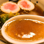 59106514 - 綺麗なスープ、癖になるスープです。