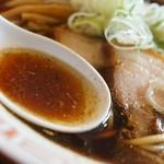 おお田ラーメン店 - スープ