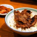 上野 太昌園 - おかわりは白飯で。
