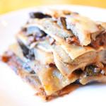 オープンオーブン - ナスとミートソースのラザニア