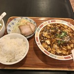 上海屋 - 麻婆豆腐定食