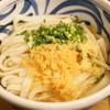 こくわがた - 料理写真:⑲かけひやひや(並・390円)と阿波尾鶏ささみ天(190円)(2016/11)