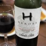 いなかむら - ドリンク写真:コスパ最高!値段も安く味も良い赤ワインです。