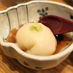 青葉 - 蒲焼きにはごま豆腐。 (・∀・)
