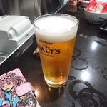 宅飲み酒場 アヤノヤ - 生ビール