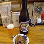 グルメハウス薔薇亭 - ビールはキリン・ラガー