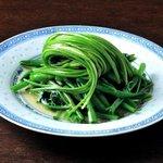 青菜 - 中国青菜三種炒め