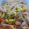鰐come うぇるかむ - 料理写真:大鰐温泉豆もやし炒め