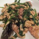 赤門 - メイン料理(2016.10.22)