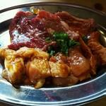 焼肉食堂 太陽 - 料理写真:肉!肉!