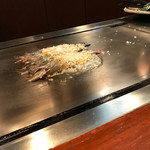 ステーキハウスれんが亭 - 車海老の衣焼き