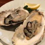 ステーキハウスれんが亭 - 赤穂産 蒸し牡蠣