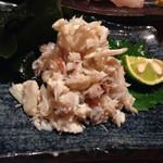 魚真 - 蟹盛ハーフ この日は渡り蟹