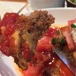 59159017 - 《オールビーフハンバーグ》+《びすとろスペシャル》+《リッチトマトソース》                       2016/11/22