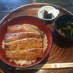 東京竹葉亭 - 料理写真:鰻丼(桜)(2016,11)