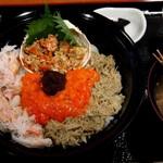 味暦あんべ - 親蟹丼