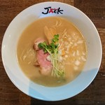 ラーメンJACK - 料理写真:2016年11月 Jack牛そば 750円