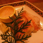 割烹 しまもと - 金目鯛の塩焼き