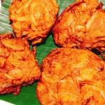 IndianRestaurant SONIA - 玉ねぎと粉の揚げ物