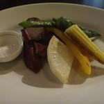 ラピアッツァ - 窯焼き野菜