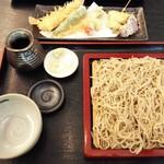 59185814 - 湘南鎌倉野菜とえびの天麩羅せいろ