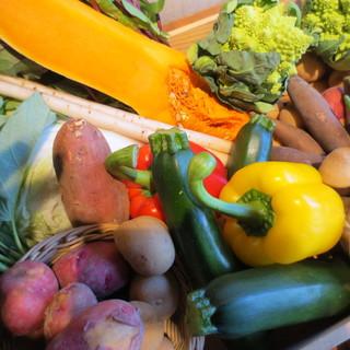 野菜の美味しさを最大限に・・・