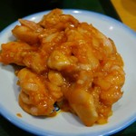 菜館Wong - 軟らか鶏のチリソースup