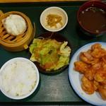菜館Wong - 日替わり(軟らか鶏のチリソース)