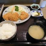 とんかつ太郎 - 料理写真:ヒレかつ定食