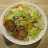 尾張タンメン野武士 - 料理写真:尾張タンメン 大盛 中太麺  チャーシュー 野菜増量