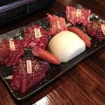 けとばし屋チャンピオン - 焼肉盛り合わせ(2人前)2980円