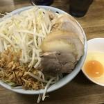 ラーメン二郎 - 【2016.11.23】限定の『小ブタ汁なし』¥1030