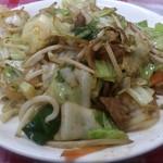 丹頂 - ・野菜炒め定食 830円