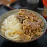 丸池製麺所 - 肉