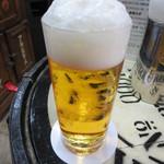 ビールスタンド重富 - 参度注ぎ 500円