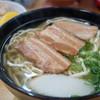 玉家 - 料理写真:三枚肉 (大) (¥600)、ジューシー (¥150)